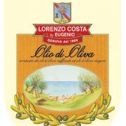 Olio Costa-lorenzo costa fu eugenio-prodotti-acquista online-olio di oliva-etichetta-genova-italia