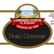 Olio Costa-lorenzo costa fu eugenio-prodotti-acquista online-specialità gastronomiche-pesto alla genovese-etichetta-genova-italia