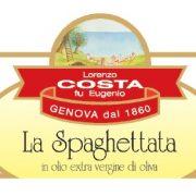 Olio Costa-lorenzo costa fu eugenio-prodotti-acquista online-specialità gastronomiche-la spaghettata-etichetta-genova-italia